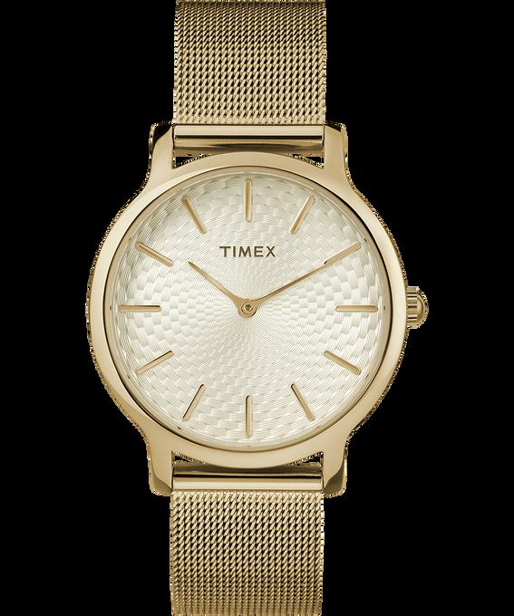 Metropolitan 34mm Stainless Steel Watch Gold-Tone large