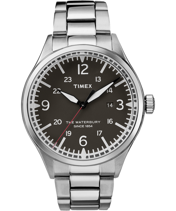 Waterbury Traditional 40mm Stainless Steel Watch