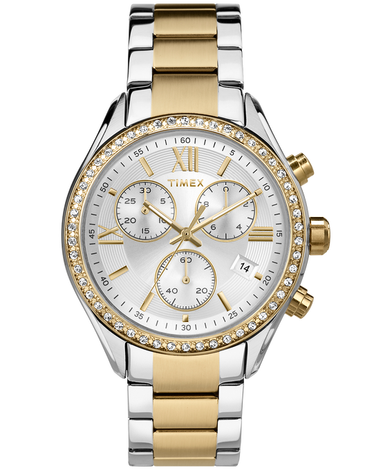 Miami 38mm Stainless Steel Watch Two-Tone/Silver-Tone/Gold-Tone large