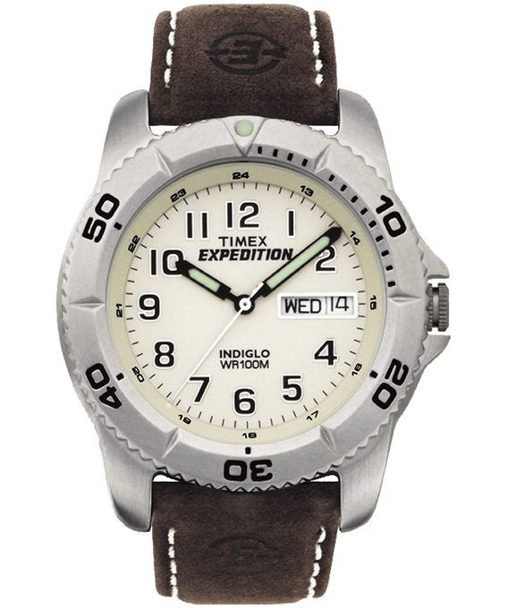 Expedition Traditional 40mm Leather Watch