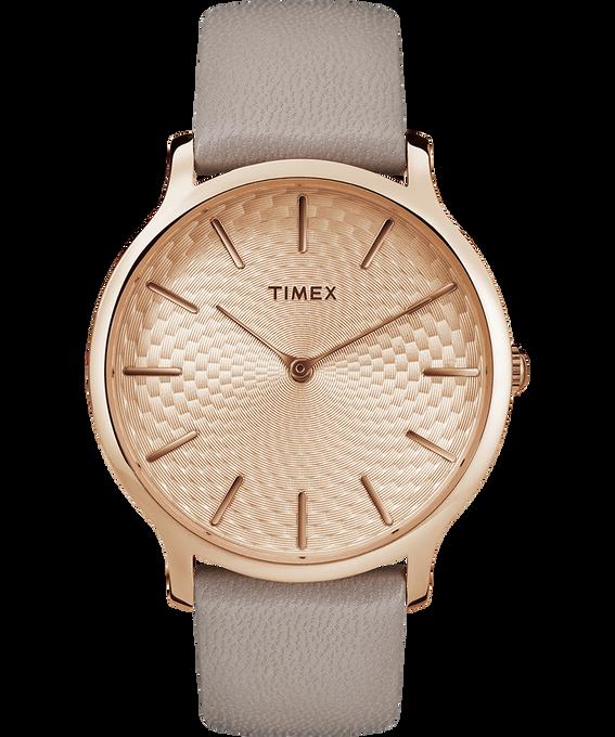 Metropolitan 40mm Leather Watch