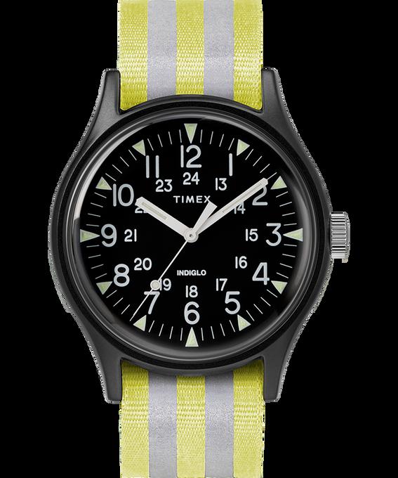 MK1 Aluminum 40mm Reflective Nylon Strap Watch