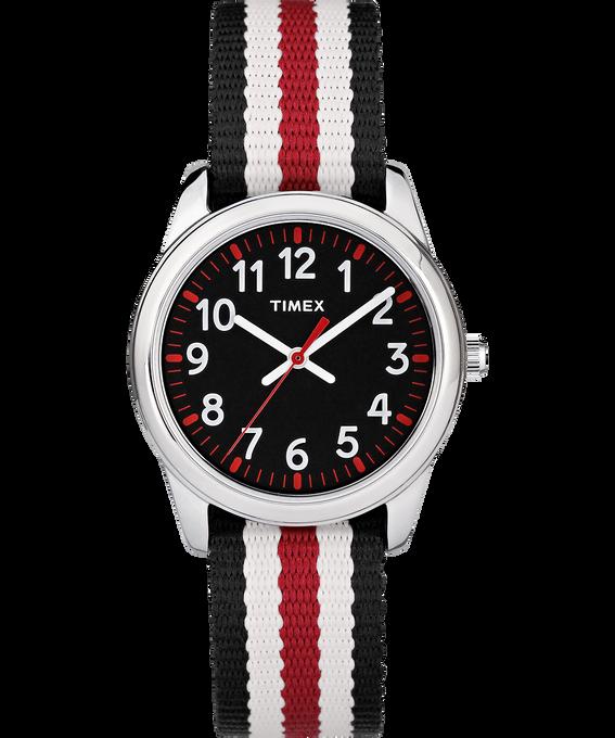 30mm Kids Striped Nylon Analog Watch