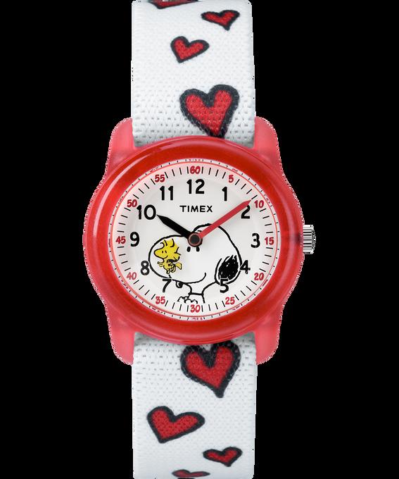 Peanuts 28mm Elastic Fabric Strap Watch