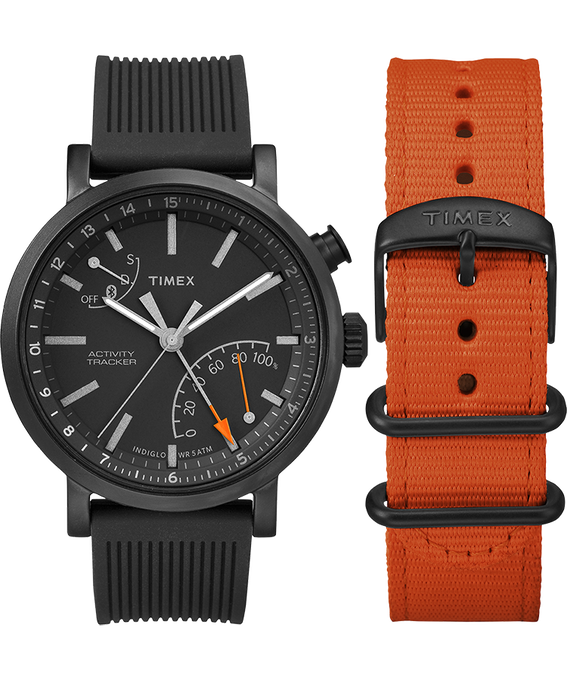 Metro Plus 42mm Silicone/Nylon Strap Gift Set