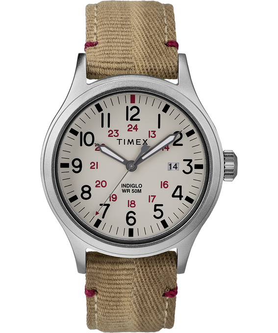 Allied 40mm Fabric Strap Watch