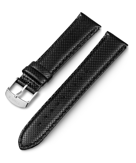 20mm iQ Textured Leather Strap