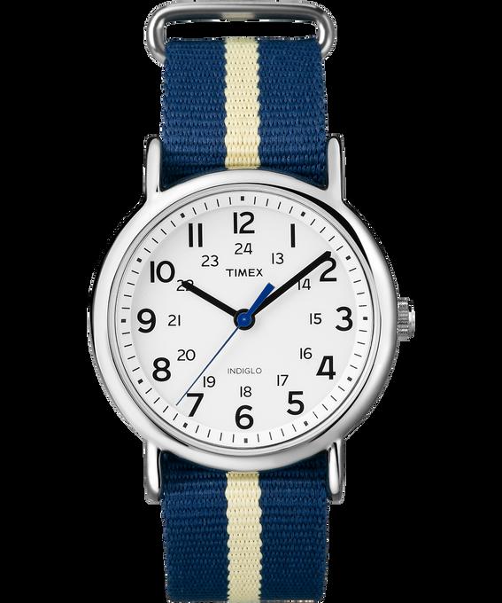 Weekender 38mm Nylon Stripe Strap Watch