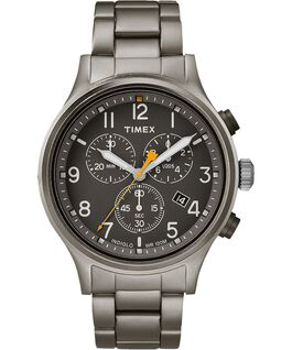 Allied Chronograph 42mm Stainless Steel Watch Gray/Black large