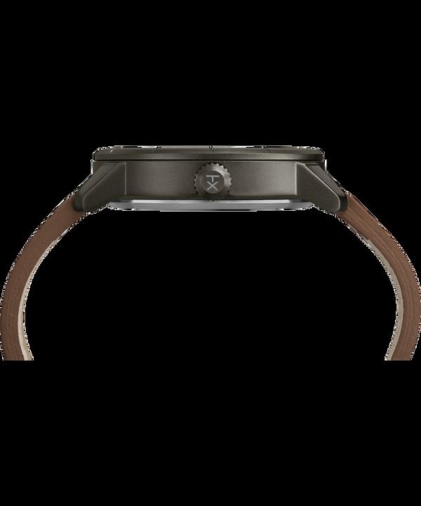 Mod44 44 mm con cinturino in pelle  Black/Brown large