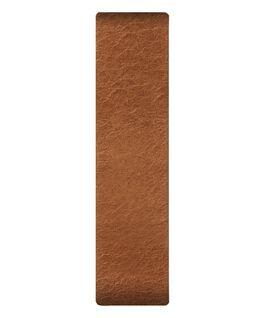 Cinturino scorrevole miele in pelle  large