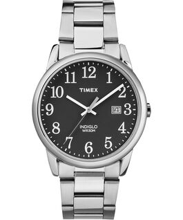 Easy Reader Date 38 mm a bracciale  Silver-Tone/Black large