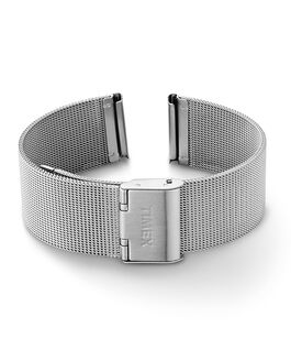 Bracciale in maglia mesh quick-release da 18 mm Silver large