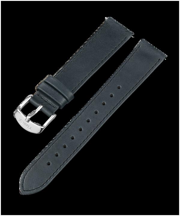 Cinturino in pelle da 18 mm Black large