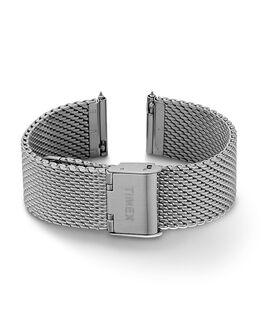 Bracciale in maglia mesh quick-release da 20 mm Silver large