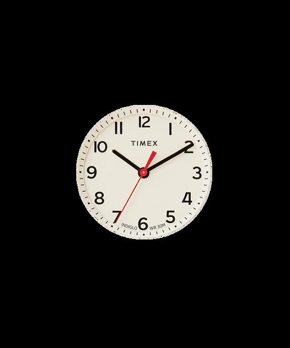 Quadrante crema/Lancetta dei secondi rossa  large