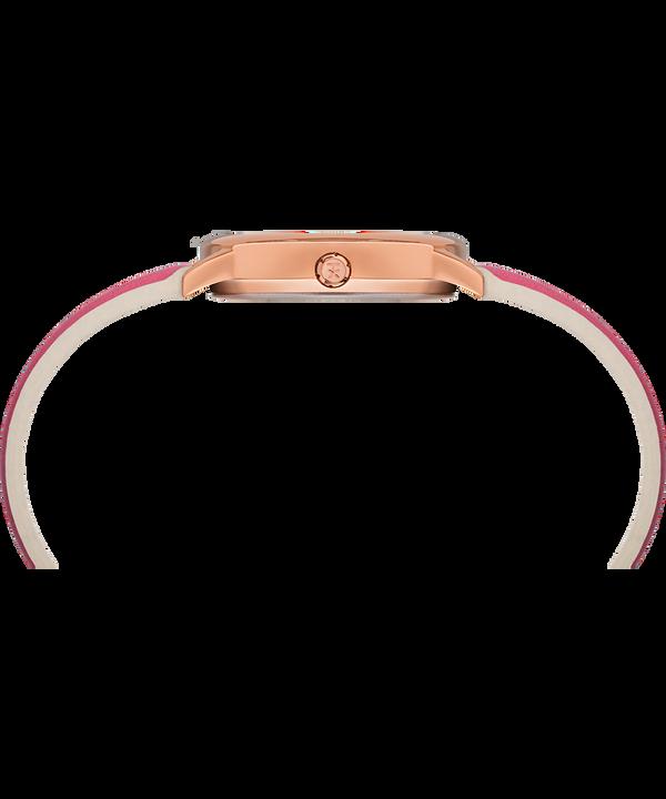 Easy Reader Color Pop 30 mm con cinturino in pelle  Tonalità oro rosa/Rosa/Bianco large