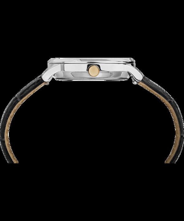 Waterbury Classic 36 mm con cinturino in pelle  Stainless-Steel/Black/White large