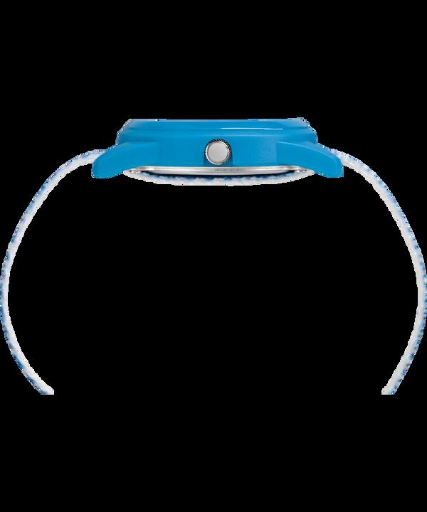 Kids Analog 32 mm con cinturino in nylon  Blue/White large