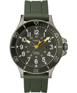 OROLOGIO ALLIED COASTLINE 43MM SILICONE CON CINTURINO IN SILICONE Gray/Green large