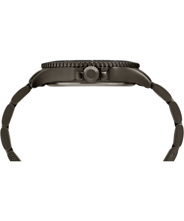 Expedition Ranger 43 mm con bracciale in acciaio Gunmetal/Gray/IP-Gun large