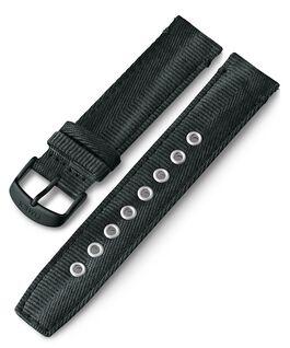 Cinturino in tessuto quick-release da 20 mm Nero large