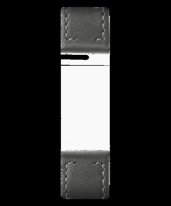 Cinturino in pelle grigia  large