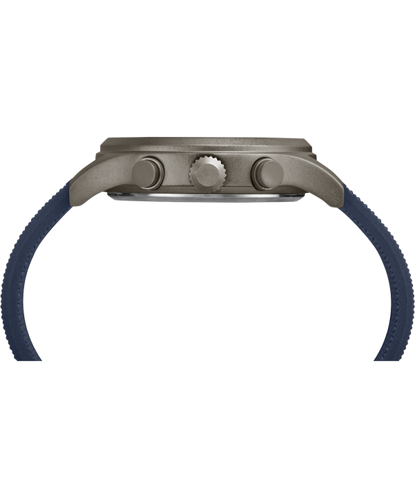 Allied Chronograph 42 mm con cinturino in silicone  Gray/Blue large
