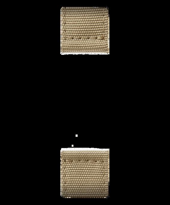 Cinturino in nylon color miele  large