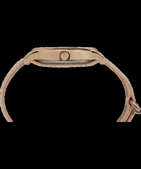Weekender 38 mm con cinturino in nylon  Rose-Gold-Tone/Pink/Cream large