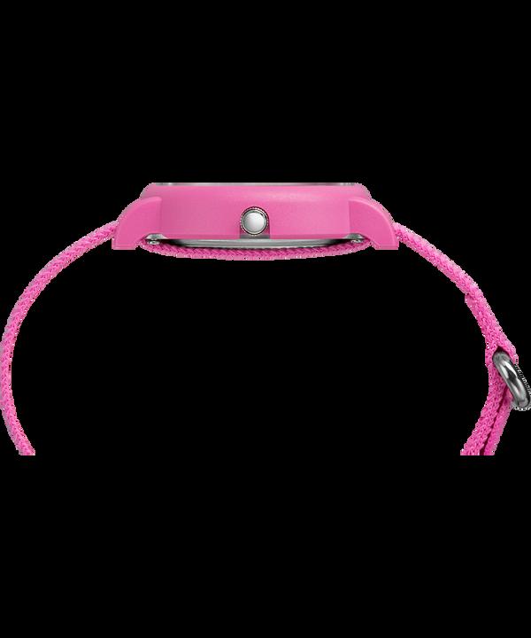 Set da regalo con orologio con cinturino in nylon Weekender Color Rush 34 mm Pink large