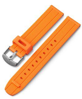 Cinturino in silicone quick-release da 20 mm Arancione large