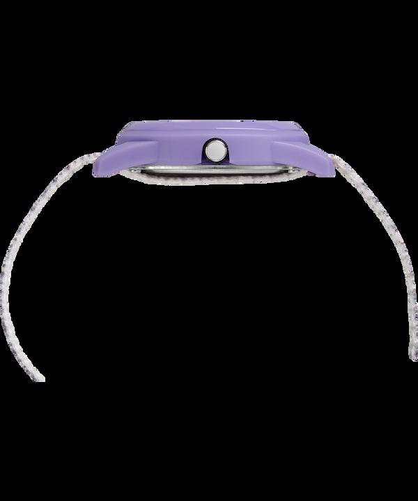 Kids Analog 32 mm con cinturino in nylon Purple/White large