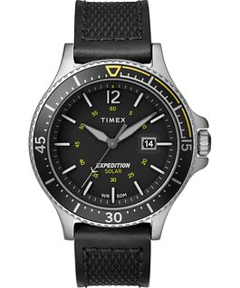 OROLOGIO EXPEDITION RANGER SOLAR 43MM CON CINTURINO IN PELLE Silver/Nero large