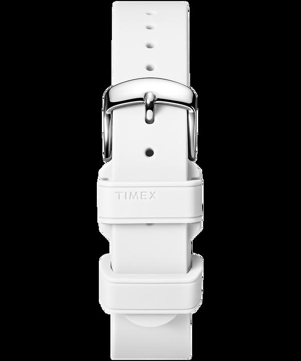 Cinturino in silicone da 18 mm White large