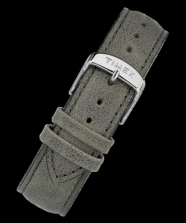 Cinturino in pelle a sgancio rapido da 20 mm Gray large