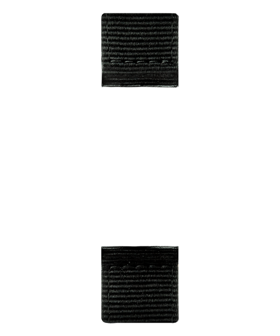 Cinturino in nylon nero  large