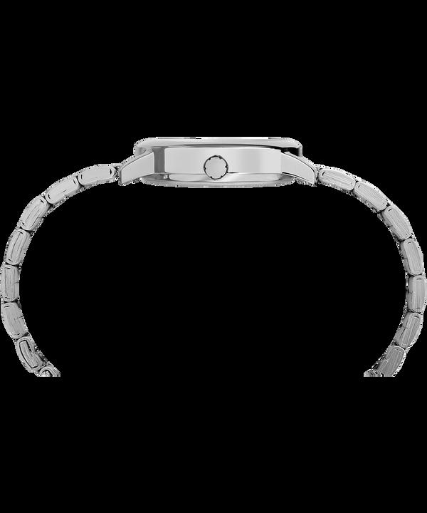 Easy Reader 30 mm braccialato Silver-Tone/White large