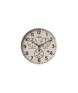 Quadrante crema/Lancetta dei secondi silver  large