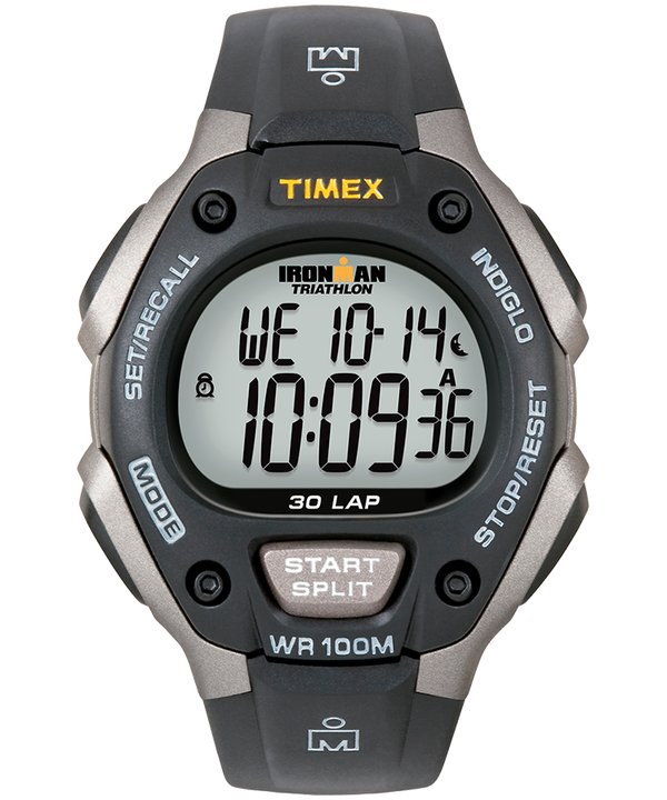 IRONMAN Classic 30 Full-Size 38mm Resin Strap Watch  large