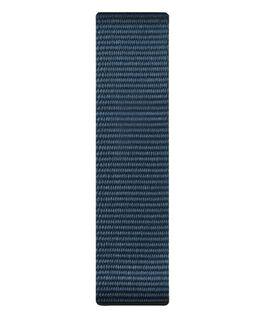 Cinturino a scorrimento in nylon blu  large