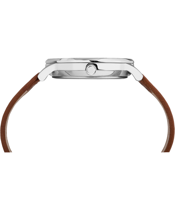 Waterbury Classic 40 mm con cinturino in pelle  Stainless-Steel/Tan/Black large