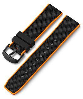 Cinturino in silicone quick-release da 22 mm Nero large