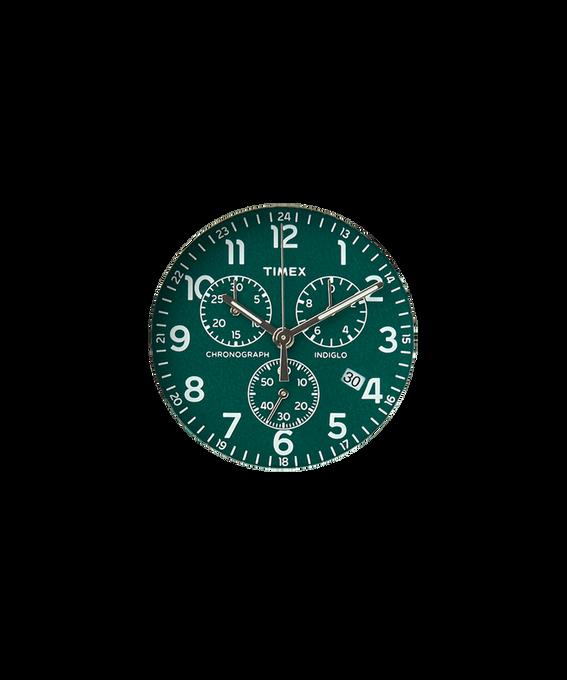 Quadrante verde/Lancetta dei secondi silver  large