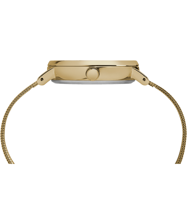 Fairfield 37 mm con bracciale in maglia mesh Gold-Tone/Natural large