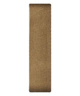 Cinturino scorrevole in tela miele  large