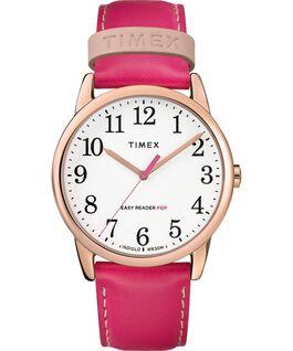Orologio-da-donna-con-cinturino-in-pelle-Easy-Reader-Color-Pop-38-mm-in-esclusiva Tonalità oro rosa/Rosa/Bianco large