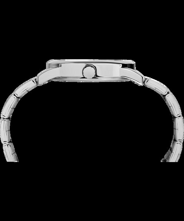 Easy Reader Date 38 mm braccialato Silver-Tone/White large