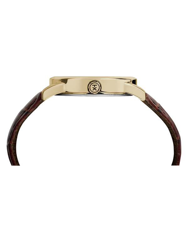 Easy Reader Signature 38 mm con cinturino in pelle Two-Tone/Brown/White large