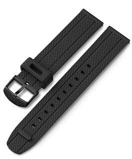Cinturino in silicone quick-release da 20 mm Nero large